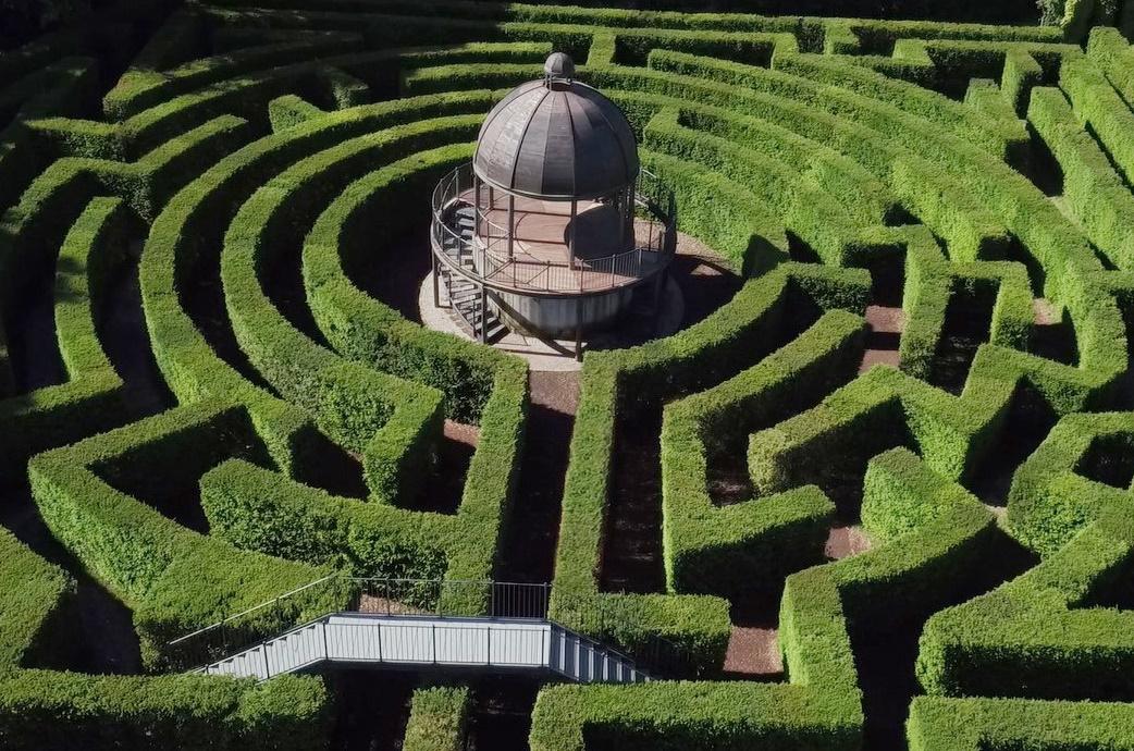 Parco giardino sigurt for Giardino labirinto